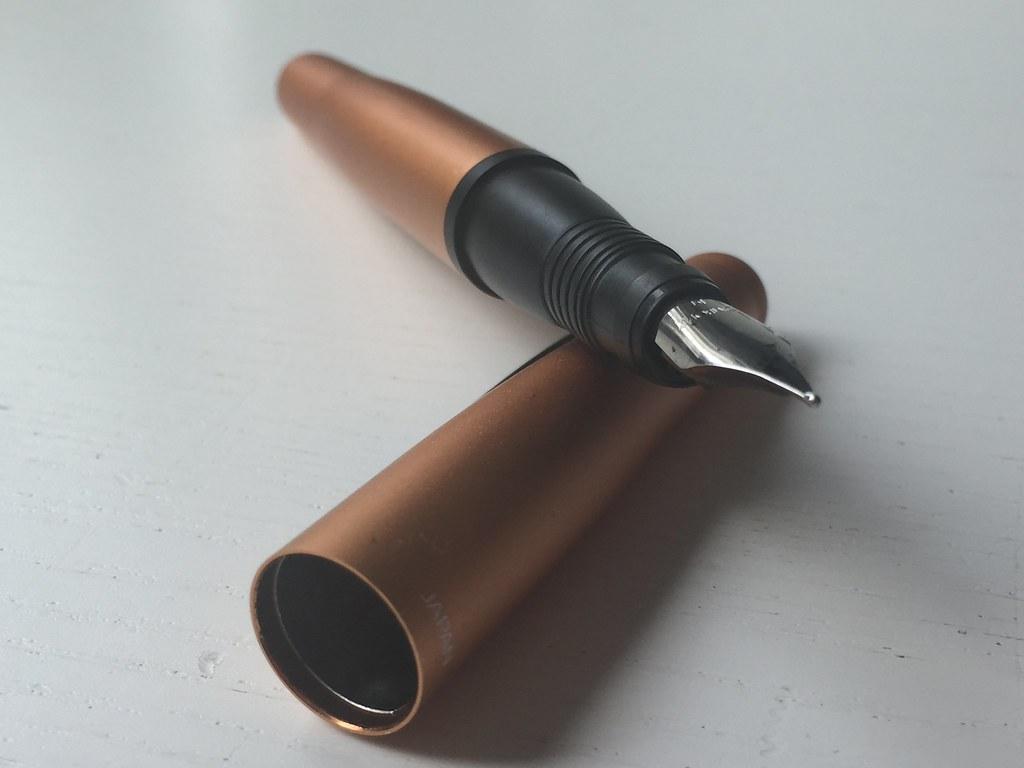 TOMBOW Tintenroller Object Collection goldorange-matt