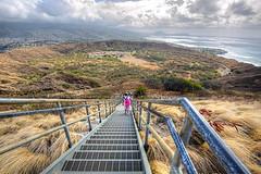 View from Diamond Head, Oahu (Steve's stills) Tags: hawaii oahu hiking diamondhead