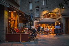 Evening Cafe. Saint-Malo, Brittany, France (Oleg.A) Tags: france evening brittany bretagne saintmalo stmalo streetmarket