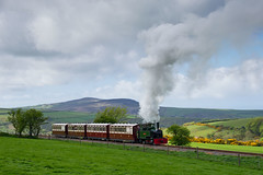 Summit (Arvor Photography) Tags: track isaac transport devon railways coaches exmoor steamlocomotive 2015 no17 no7 narrowgaugerailway bagnall no11 no16 woodybay 042t lyntonbarnstaplerailway darylhutchinson killingtonlane trentishoedown arvorphotography no3023