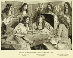 The sealing of the Bank of England Charter (Historystack) Tags: london europe 17thcentury economics banks centralbank bankofengland finances modernhistory july27 kingdomofengland 1690s historyofengland historyofunitedkingdom year1694 williampatersonbanker
