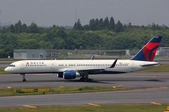 N538US Boeing 757-251(WL) Delta (pslg05896) Tags: tokyo delta narita nrt boeing757 rjaa n538us