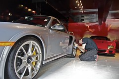 Larry Checking Rims on GT2 RS