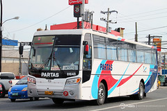 Partas Transportation Co., Inc. - 81648 (blackrose917_051) Tags: bus del works motor monte society hino philippine rm enthusiasts partas dm10 81648 philbes rm2p p11cth