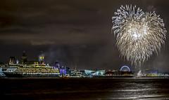 Three Queens Liverpool Fireworks (Dancin K & H) Tags: love liverpool three heart display fireworks mary queen queens beatles the