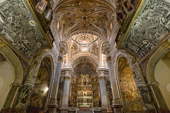 San Jeronimo Monastery - Granada (CanvasOfLight) Tags: travel light church saint architecture andaluca spain san daniel interior details ceiling altar canvas monastery granada vault christianity es intricate jeronimo 2015 nahabedian monestario canvasoflight