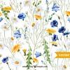 hand painted flowers vector background material (movieboke) Tags: flowers hand painted handpainted paintedflowers handpaintedflower handpaintflower handpaintflowers