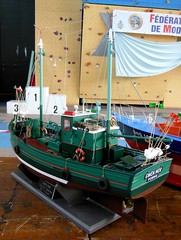 GWEN MOR Chalutier caseyeur (Maquette) (xavnco2) Tags: show france boat model ship expo exposition bateau naval amiens maquette pche championnat 2015 fishingship modlisme chalutier lahotoie mycp