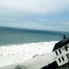 Beach house 2....erosion (Kookoo sabzi) Tags: old house this