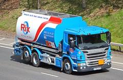 SCANIA P360 - RIX Oils Hull (scotrailm 63A) Tags: trucks tankers lorries