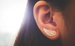 Earing wings (Nam Trnh) Tags: love girl wings asean earing