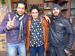 Three Colleagues (Kombizz) Tags: iran tehran peacesign teahouse jamal youngpeople vsign maysam 1394 freedomtower hamidreza azaditower iranianyouth islamicrevolution ayatollahruhollahkhomeini azadisquare kombizz 22bahman iranianrevolution meydaneazadi anniversaryoftheislamicrevolution chaikhane 1140509 22bahman1394