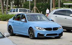 BMW M3 (F80) (SPV Automotive) Tags: blue sports car sedan exotic bmw f80 m3