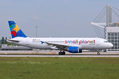 D-ASPG / Small Planet Airlines Germany / A320-214 (karl.goessmann) Tags: airbus muc a30 smallplanet