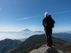 IMG_463120160529 (Zac Li Kao) Tags: mountain alps nature japan canon climb fuji outdoor hiking hike powershot mountaineering fujisan minami yamanashi minamialps houou g1x