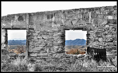 April 9 2012 - Once a room with a view (lazy_photog) Tags: old abandoned rock buildings photography community ruins basin mining lazy walls wyoming bighorn coal elliott photog gebo worland 040912hamiltondomelegendrock