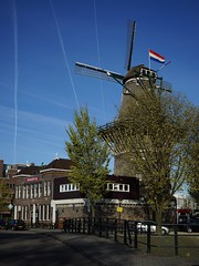Bevrijdingsdag - Liberation Day (naturum) Tags: holland mill netherlands windmill amsterdam geotagged spring flag may nederland mei lente molen liberationday windmolen vlag 2016 bevrijdingsdag ascensionday hemelvaartsdag geo:lat=5236678231 geo:lon=492721796
