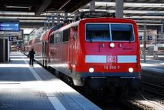 111.066 (Tams Tokai) Tags: eisenbahn zug db bahn vonat vast