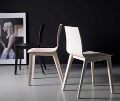 Sedia in legno laccata (design italiano) Tags: design casa sedia cucina legno soggiorno laccato