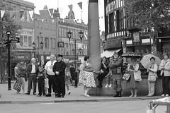 Rotherham Vintage Hop June 2016 (9) (Chris.,) Tags: blackandwhite bw canon blackwhite dance war song crowd 1940s 1950s creativecommons hiphop polkadot rotherham allsaintssquare vintagehop queens90thbirthdaycelebration