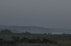 isolated places (jenifer.keffer) Tags: sf houses nature fog night clouds outdoors sadness landscapes loneliness structures eerie fields bleak haunting isolation desaturated sfbayarea sfbay longexposures
