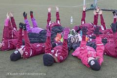 1604_FOOTBALL-105 (JP Korpi-Vartiainen) Tags: game girl sport finland football spring soccer hobby teenager april kuopio peli kevt jalkapallo tytt urheilu huhtikuu nuoret harjoitus pelata juniori nuori teini nuoriso pohjoissavo jalkapalloilija nappulajalkapalloilija younghararstus