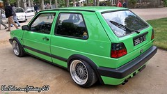 VW GOLF (gti-tuning-43) Tags: auto cars vw golf volkswagen automobile expo meeting voiture event modified mk2 tuning modded tuned 2016 valslesbains show meeting tuning tuning