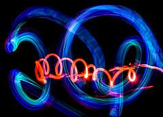 Playing With Light (Karen Carmen) Tags: longexposure nightphotography light colour night studio redlight photo5 glowsticks