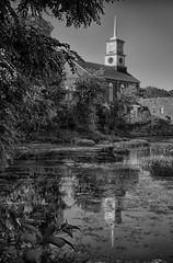 Reflection (jpr_me) Tags: summer church water june outdoors nashua 2016 nashuariver gracefellowship blindphotographer 1855mmf3556gii d7000