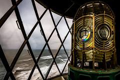 Lantern 2 (Richard_Turnbull) Tags: light sea lighthouse lamp lens coast nikon northumberland fresnel lantern northeast d600 stmarysislandlighthouse