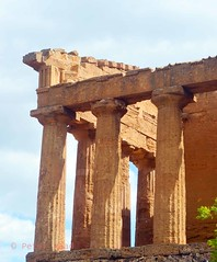 Valley of the Temples - Temple of Concordia - detail 3-1 (Sussexshark) Tags: holiday detail temple concordia sicily vacanza sicilia agrigento valledeitempli valleyofthetemples 2016