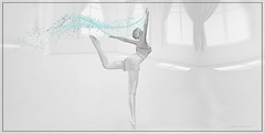 Die Leichtigkeit des Seins...... (AlienmausAllen) Tags: ballet white pencil dance soft sl secondlife alienmausallen
