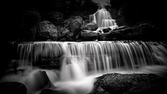 Fall for you (Telmo Pina e Moura) Tags: bw ndfilter water waterfalls blackandwhite pretoebranco tokina1116 sintra
