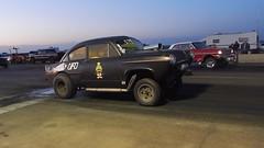 Henry  J       vs.   '63   Nova   (   Explore  #149  )  thank you (Bob the Real Deal) Tags: car race ufo oldschool henryj oldschooldrags eaglefielddrags eaglefieldrunwaydrags herryjgasser
