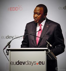 Uhuru Kenyatta, President and Commander-in-chief of the Defence Forces, Republic of Kenya - Brussels - European Development Days - 2016 (Durickas) Tags: edd edd2016 europeandevelopmentdays brussels tourtaxis uhurukenyatta presidentandcommanderinchiefofthedefenceforces republicofkenya