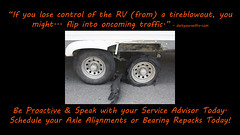 axlealign (veurinksrv) Tags: windows roof wheel doors inspection safety seal maintenance trailer rv 5th protection seam motorhome fifth bearing alignment axle caulk repack preventative slideouts rvservice rvmaintenance