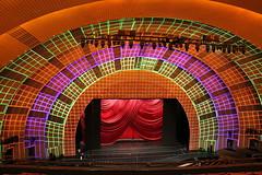 Radio City Music Hall lighting check (leebalcer) Tags: radiocitymusichall rockettes