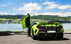 Lakeside. (Alex Penfold) Tags: green cars alex car zurich super mclaren autos napier supercar lt supercars penfold 675 2016 675lt