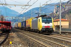 189 995 (atropo8) Tags: italy train nikon merci siemens zug loco cargo verona treno freight trenitalia veneto txlogistik domegliara brennerbahn 189995