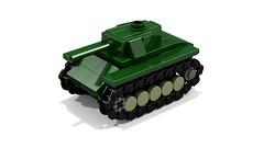 M24 Chaffee mini tank (Tamas090) Tags: m24 ustank lighttank m24chaffee minilegotank ww2legotank
