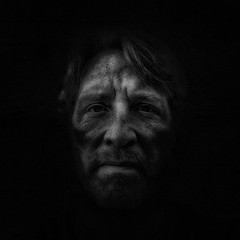 Darkness Falls (mckenziemedia) Tags: iphone iphoneography selfie selfportrait dark lowkey face portrait square gritty grain