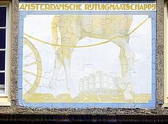 Amsterdamsche Rijtuigmaatschappij (Quetzalcoatl002) Tags: old horses amsterdam stone thirties decay company transportation bleak cracks twenties chariots citytransport rijtuigmaatschappij