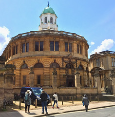 Sheldonian Theater, Oxford (tmvissers) Tags: uk england university theater oxford cupola oxfordshire sheldonian