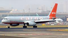 Aviastar Tupolev Tu-204F RA-64032 (FoxbatOne) Tags: india airplane design bureau jet cargo landing bom mumbai airlines ra 27 tu runway freight tupolev atu reversing csia reverser vabb aviastar ra64032