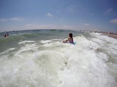 G0212381 (Tom Simpson) Tags: ocean beach maddie newjersey nj madeline jerseyshore boogieboard avonbythesea