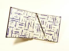 Square notebook with graphite edges (Armand K) Tags: handbound wwwinvariabiliacom bookbinding invariabilia handmade italy it