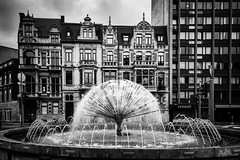 Censur . (kitchou1 Thanx 4 UR Visits Coms+Faves.) Tags: world street summer bw streetart art architecture season landscape europe cityscape exterior belgium nb saison et