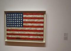 "Independence Day Colours - ""Flag"" by Jasper Johns (Pushapoze) Tags: momany museumofmodernart jasperjohns flag"