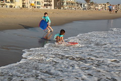 Olsen with the boogie board in the water (Aggiewelshes) Tags: beach june waves sandiego olsen missionbeach boogieboard jovie 2016