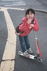 SAKURAKO - Incentive for piano lesson! (MIKI Yoshihito. (#mikiyoshihito)) Tags: kick daughter scooter jd sakurako razor kickboard  kickscooter  ms105    67 jdrazor